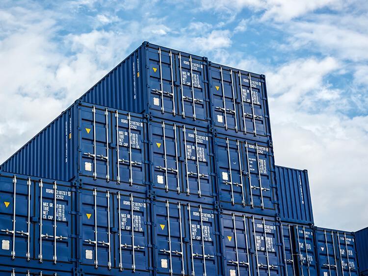 Transport kontenerowy – kontener 45' HCPW