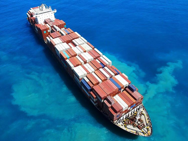 Transport kontenerowy – kontener 20' RF